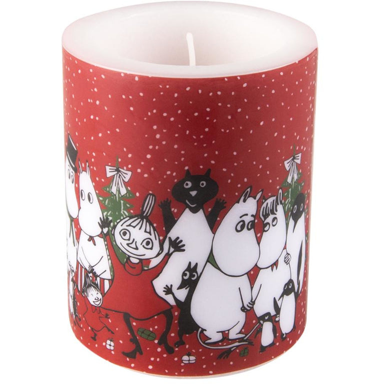 Moomin Winter Magic candle 12cm - Muurla - The Official Moomin Shop