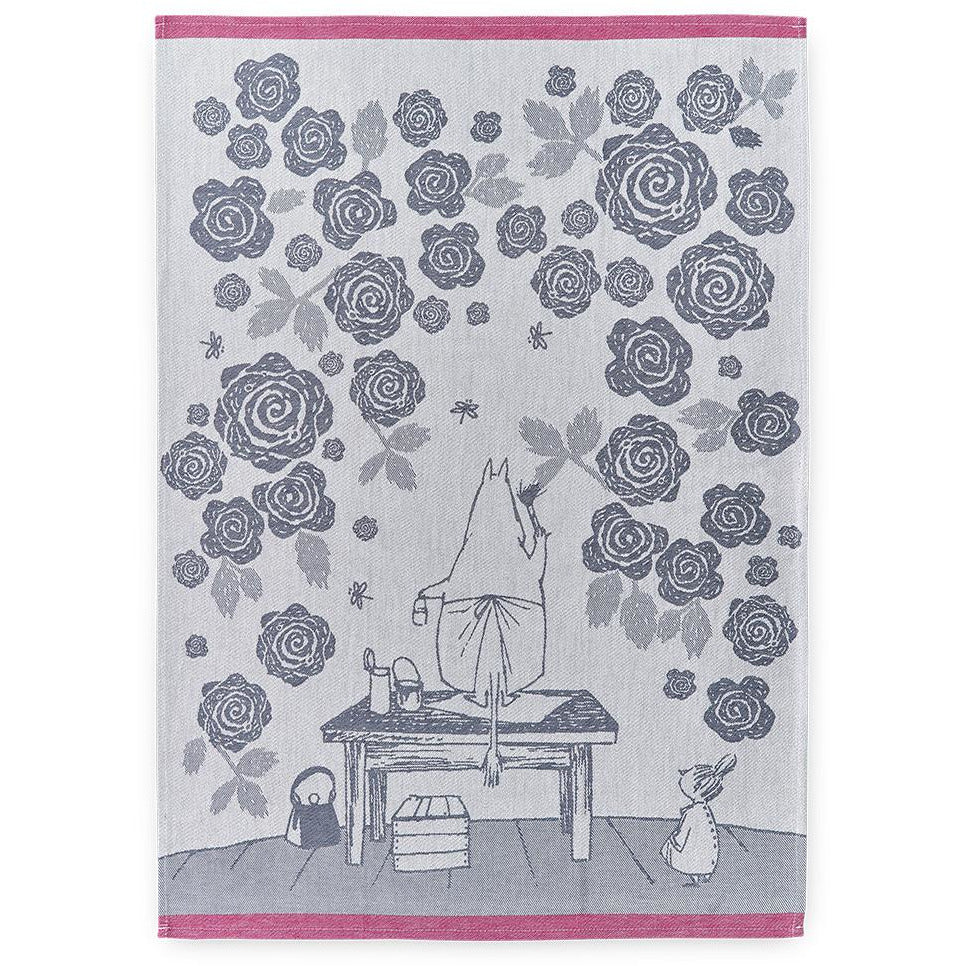 Moominmamma's Rosegarden Kitchen Towel - Finlayson - The Official Moomin Shop