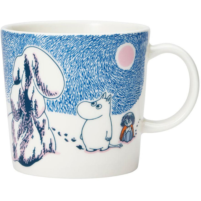 "Moomin ""Crown Snow-Load"" Winter Mug 2019 - Arabia - The Official Moomin Shop"