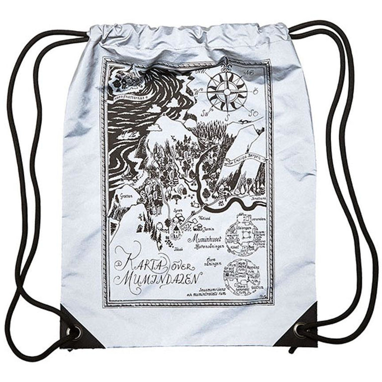 Moominvalley Reflective Backpack - Piironki - The Official Moomin Shop