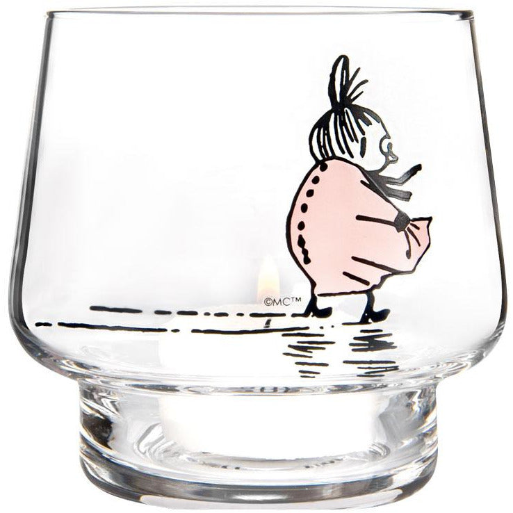 Moomin Originals Candle Holder The Strong Willed by Muurla 8cm - The Official Moomin Shop