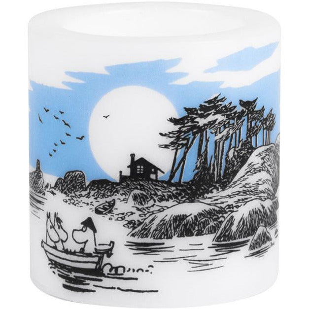 "Moomin ""The Island"" Candle 8cm - Muurla - The Official Moomin Shop"