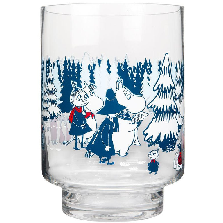"Moomin ""Winter Forest"" Candle Holder and Vase - Muurla - The Official Moomin Shop"