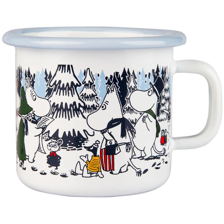 "Moomin ""Winter Forest"" Mug 2,5 dl - Muurla - The Official Moomin Shop"