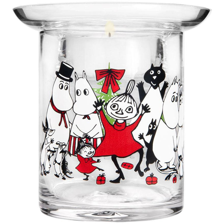 Moomin Winter Magic candle holder - Muurla - The Official Moomin Shop