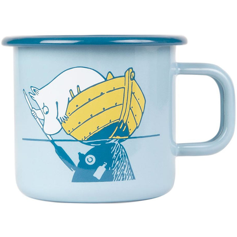 #OURSEA Moomintroll & Snufkin Mug 3,7 dl - Muurla - The Official Moomin Shop