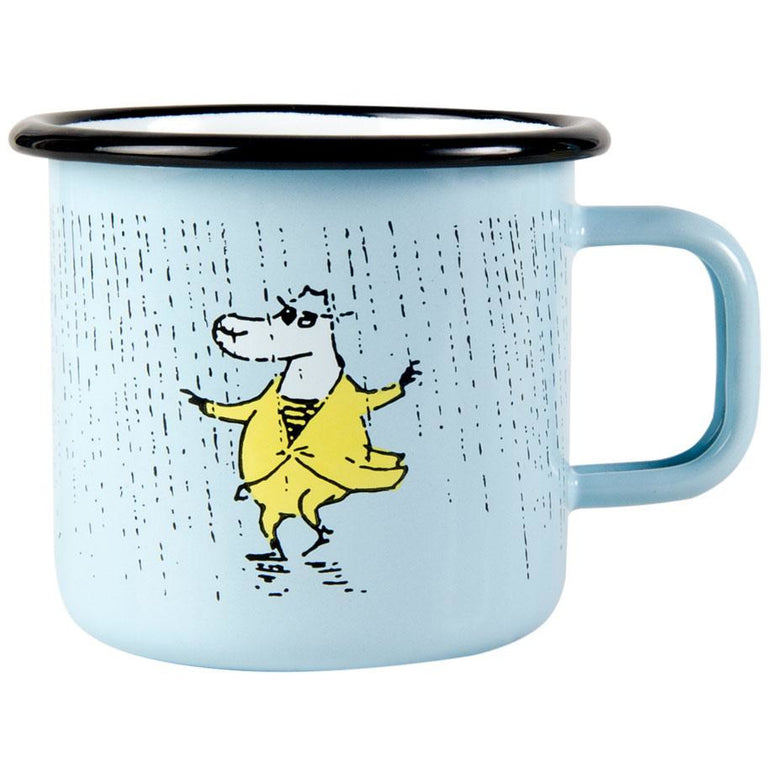 "Moomin ""Rain"" Mug 3,7dl - Moomin x Makia - The Official Moomin Shop"