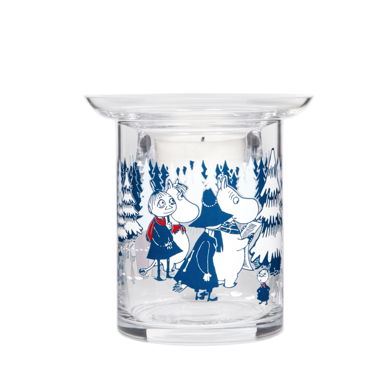 "Moomin ""Winter Forest"" Candle Holder - Muurla - The Official Moomin Shop"