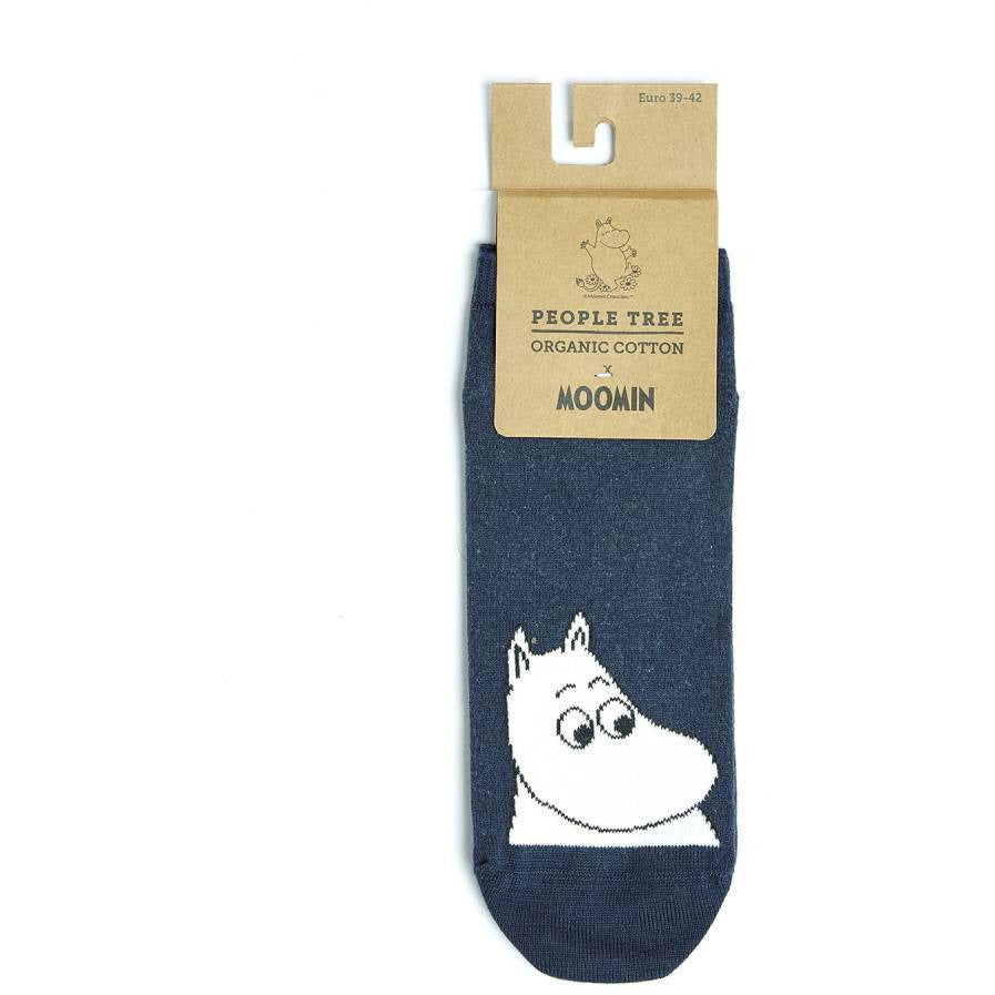 Moomin Trainer Socks blue - People Tree - The Official Moomin Shop