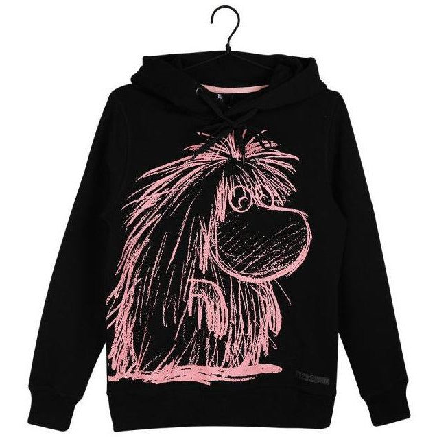 Moomin Hoodie Sketch Black - Martinex - The Official Moomin Shop