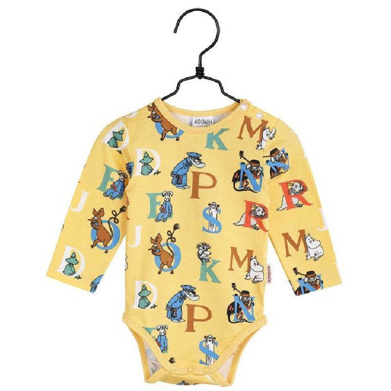 Bodysuit Alphabet - Martinex - The Official Moomin Shop
