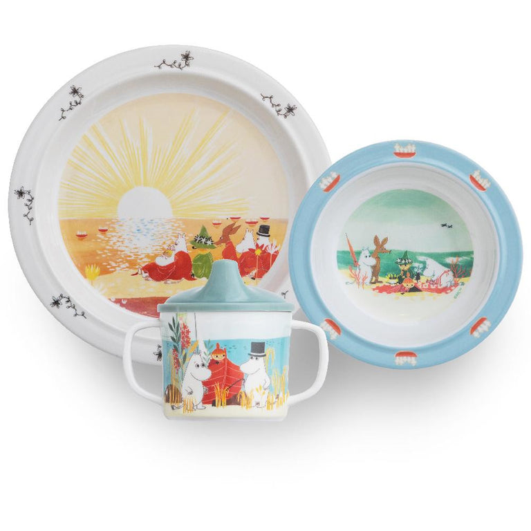 #OURSEA Moomin tableware set - Rätt Start - The Official Moomin Shop
