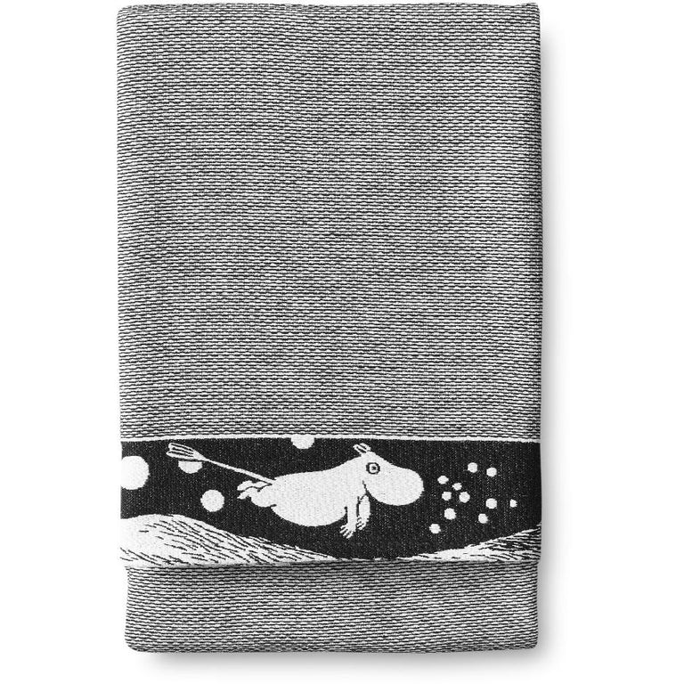 Moomin Wave hand towel 50 x 70 cm by Finlayson - The Official Moomin Shop
