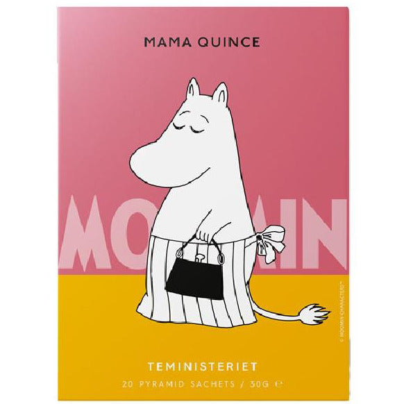 "Moominmamma Black Tea ""Quince"" pyramid - Teministeriet - The Official Moomin Shop"