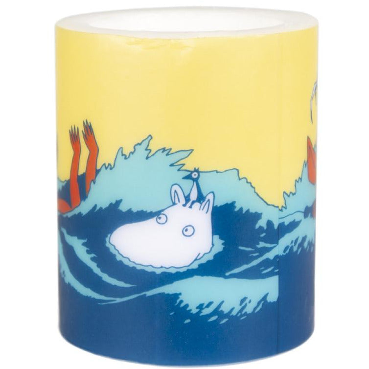 #OURSEA Moomintroll Candle 12cm - Muurla - The Official Moomin Shop
