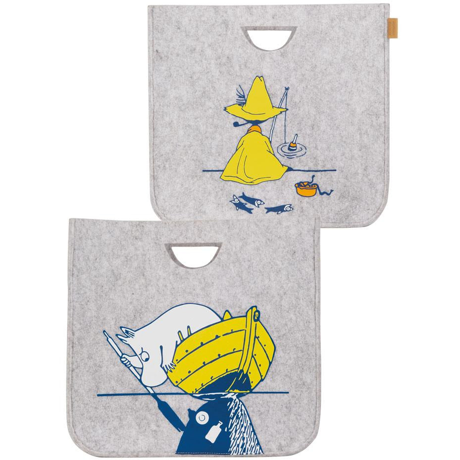 #OURSEA Moomintroll & Snufkin Storage Basket  - Muurla - The Official Moomin Shop