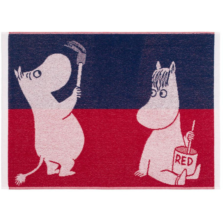 Paint Moomin hand towel 50 x 70 cm by Finlayson - The Official Moomin Shop