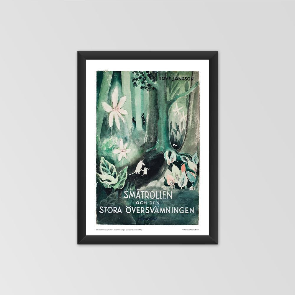 Moomin Poster - The Moomins and the Great Flood - The Official Moomin Shop