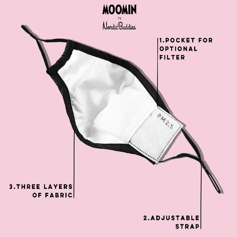 Little My Face Mask - Nordicbuddies - The Official Moomin Shop
