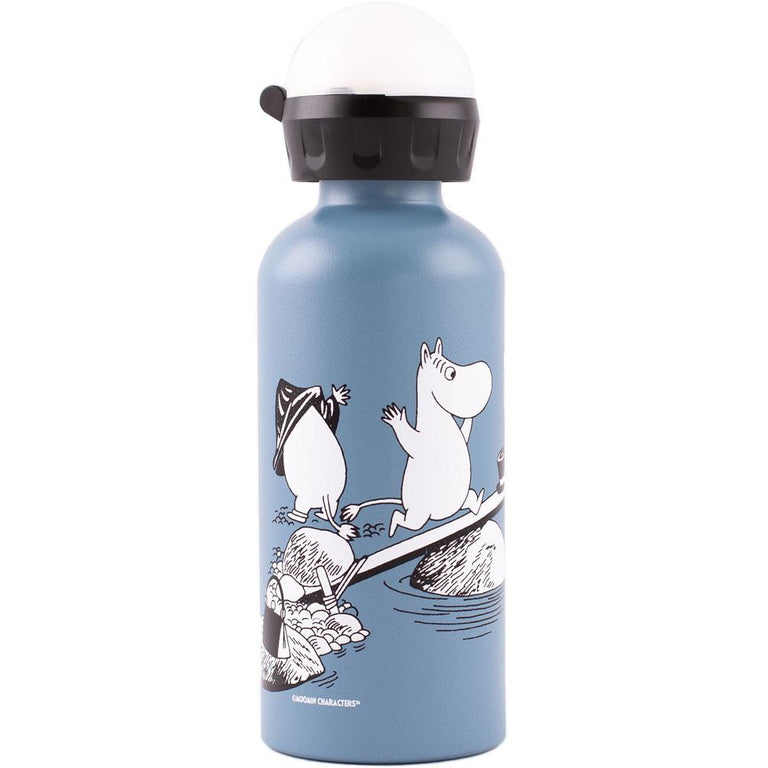 "Moomin ""Swimming"" Bottle 0,4 l - SIGG X Moomin - The Official Moomin Shop"