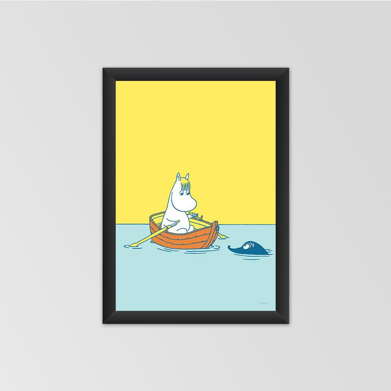 #OURSEA poster featuring Snorkmaiden - The Official Moomin Shop