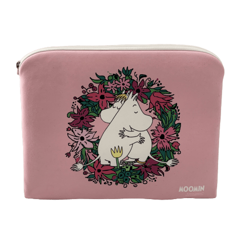 "Moomin ""Love"" Tablet Pouch - Aurora Decorari - The Official Moomin Shop"