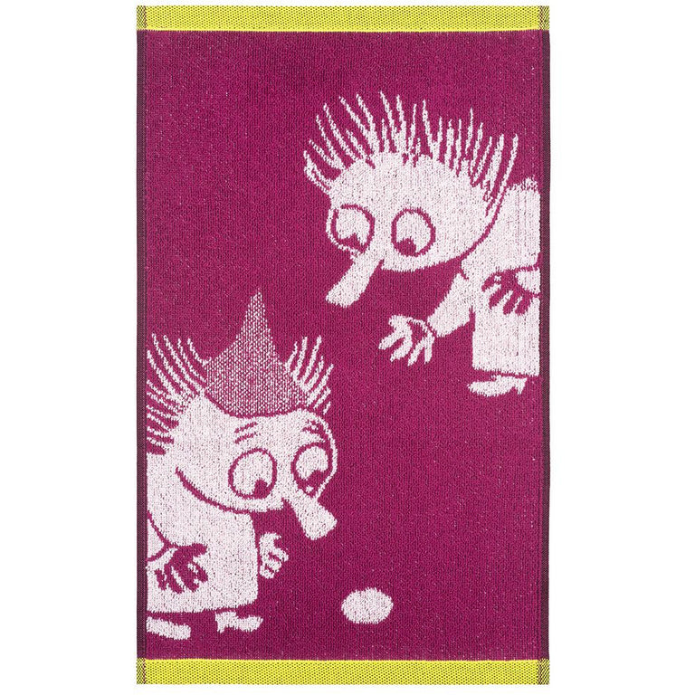Thingumy & Bob hand towel 30 x 50 cm by Finlayson - The Official Moomin Shop