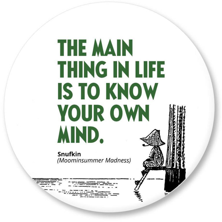 "Moomin ""The main thing"" Magnet - Putinki - The Official Moomin Shop"