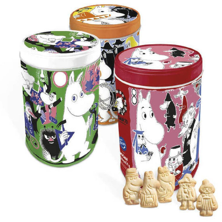 Moomin Cookies in Anniversary Jar - Fazer - The Official Moomin Shop
