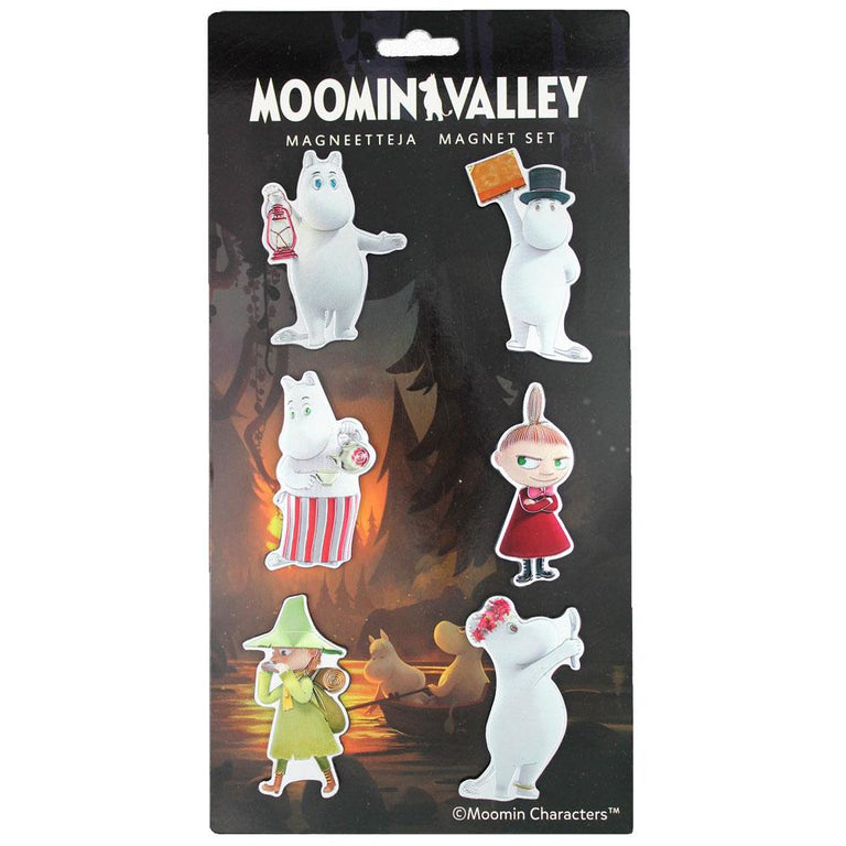 MOOMINVALLEY 6-pack magnets by TMF-Trade - The Official Moomin Shop