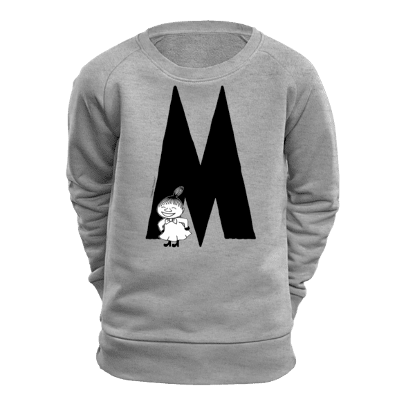 M - Moomin Alphabet Sweatshirt - feat. Moomin, Little My and Snufkin - The Official Moomin Shop