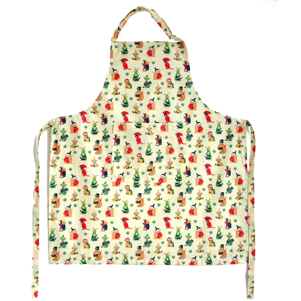 50's pattern Moomin apron - The Official Moomin Shop