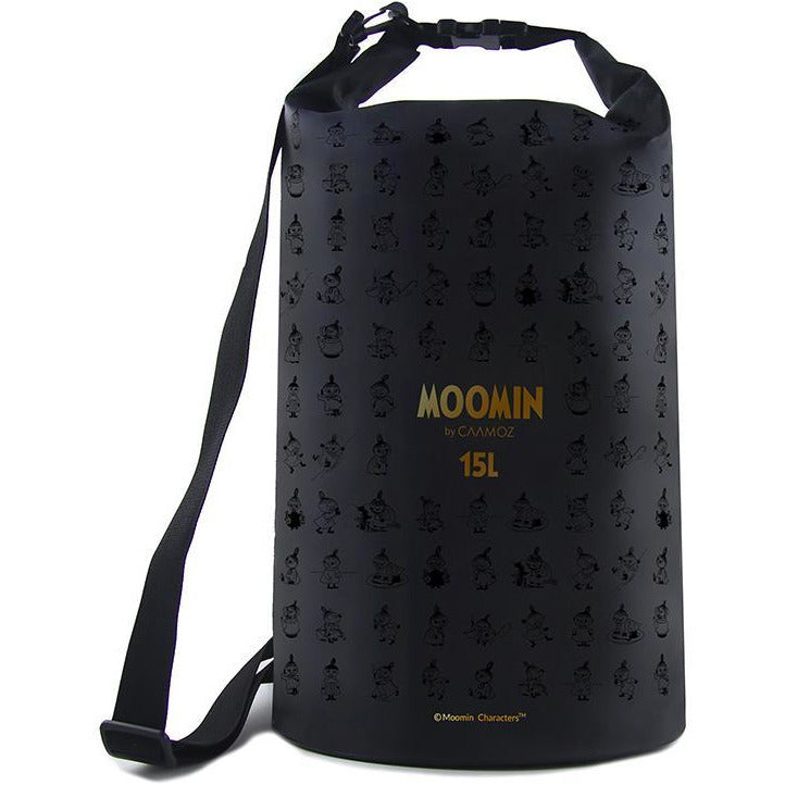 Moomin dry bag - Little My black 15l - The Official Moomin Shop