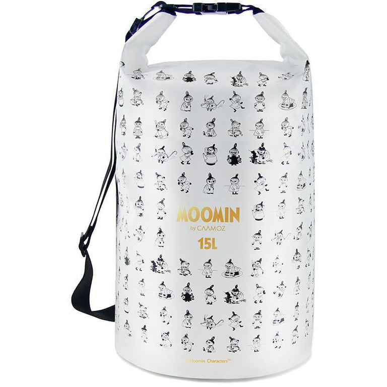 Moomin dry bag - Little My white 15l - The Official Moomin Shop