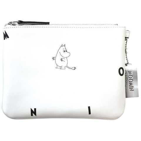 Moomin leather pouch by Mozo