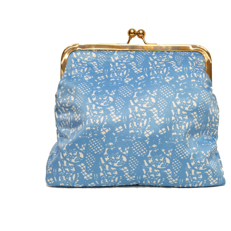 Large Moomin lace patterned clutch bag by Ivana Helsinki - The Official Moomin Shop