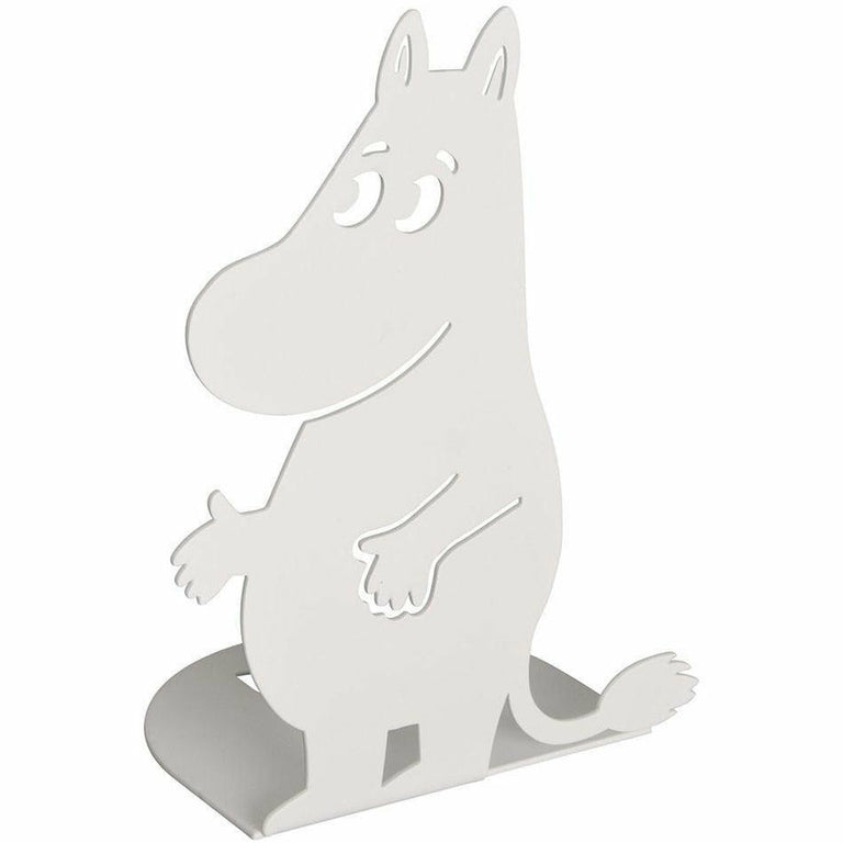 White Moomin bookends by Pluto Produkter - The Official Moomin Shop