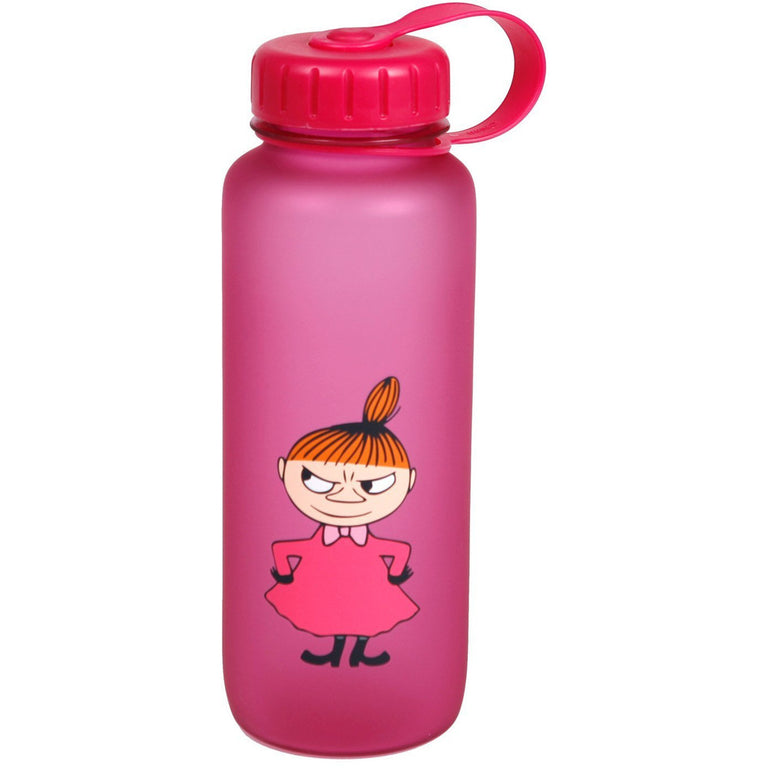 Moomin Little My water bottle pink - The Official Moomin Shop