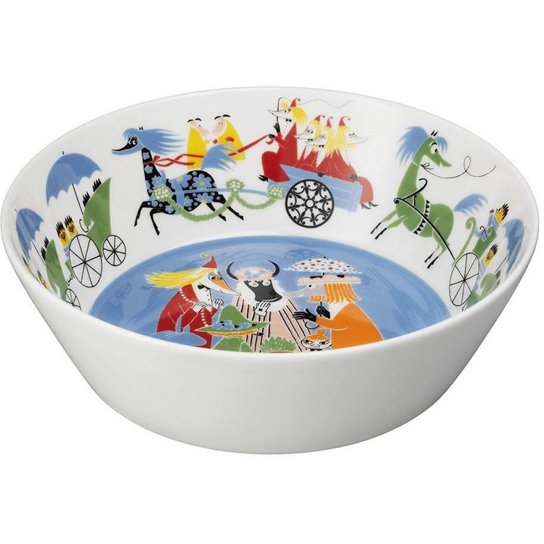 "Moomin ""Friendship"" Serving Bowl 23 cm - Arabia - The Official Moomin Shop"