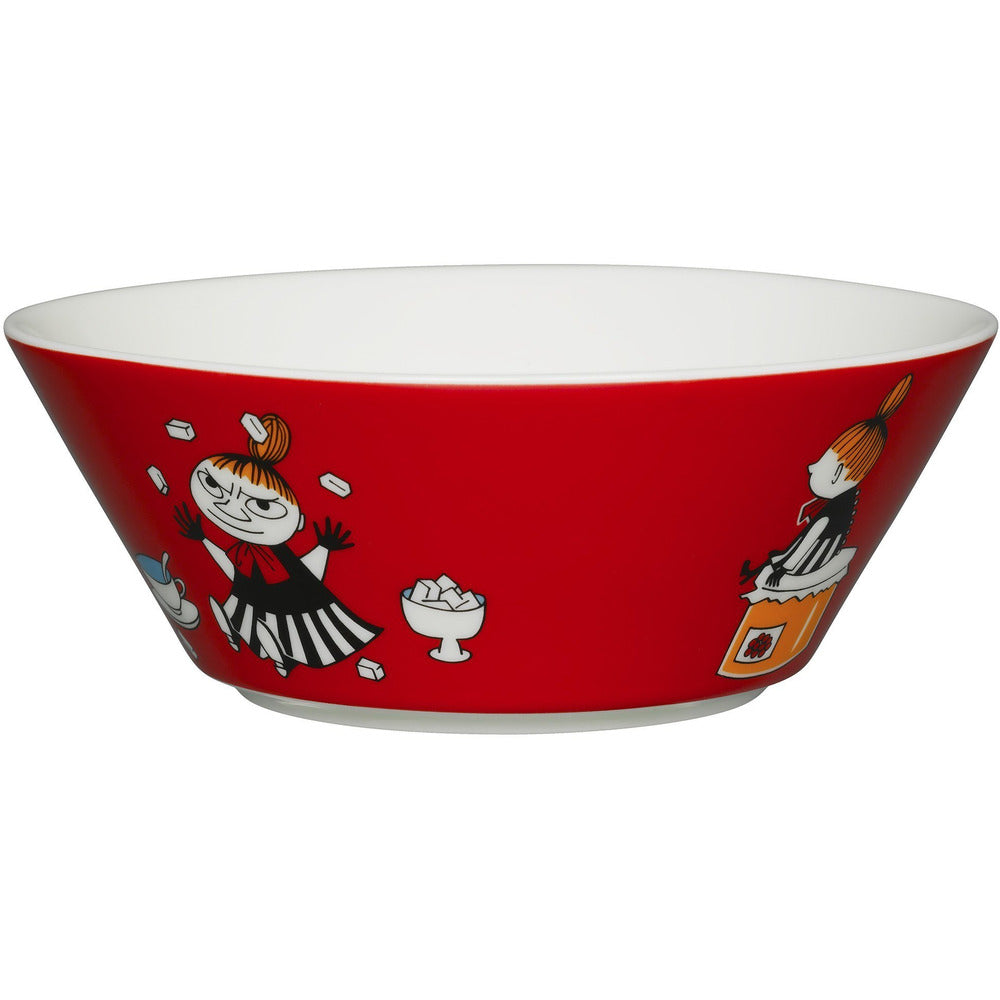 Red Little My bowl by Arabia - The Official Moomin Shop