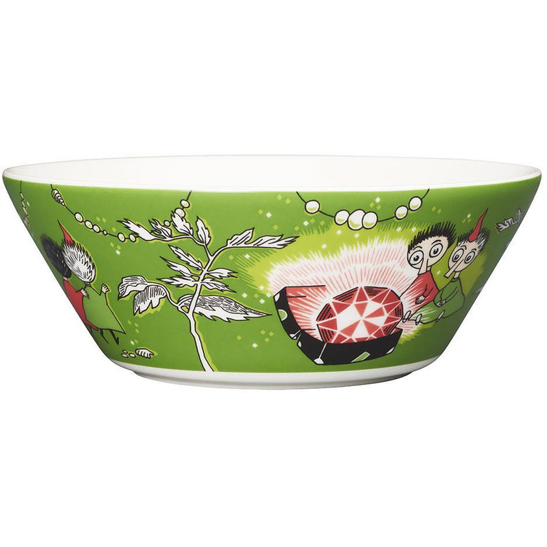 Thingumy & Bob & King's Ruby bowl by Arabia - The Official Moomin Shop