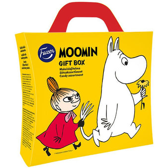 Moomin Gift Box Candy Assortment by Fazer