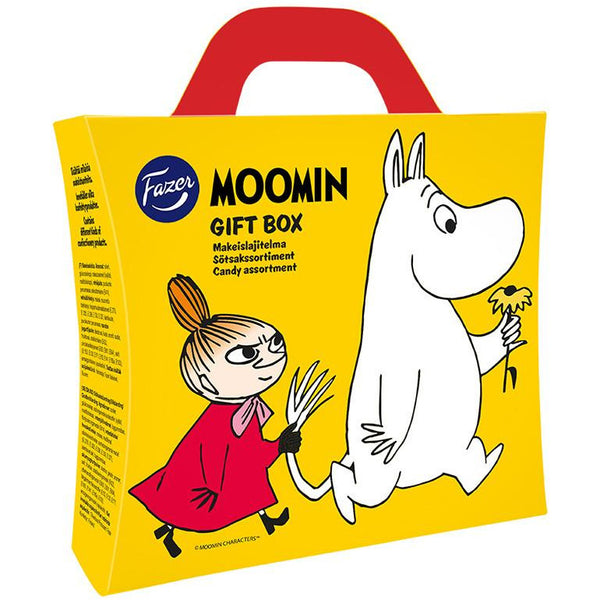 Chocolate Gift Boxes New Zealand : Moomin gift box candy assortment by fazer the official
