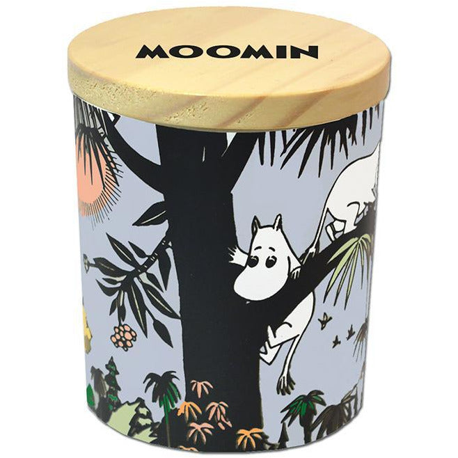 Jungle Moomin scented candle - Suomen Kerta - The Official Moomin Shop