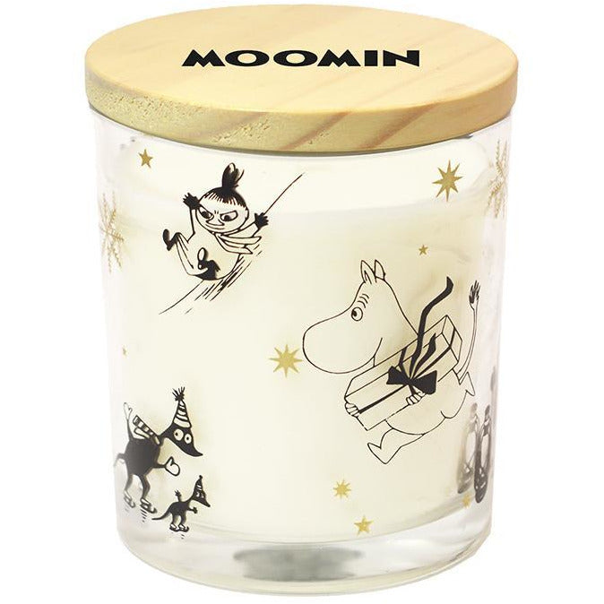 Moomin Winter scented candle - Suomen Kerta - The Official Moomin Shop