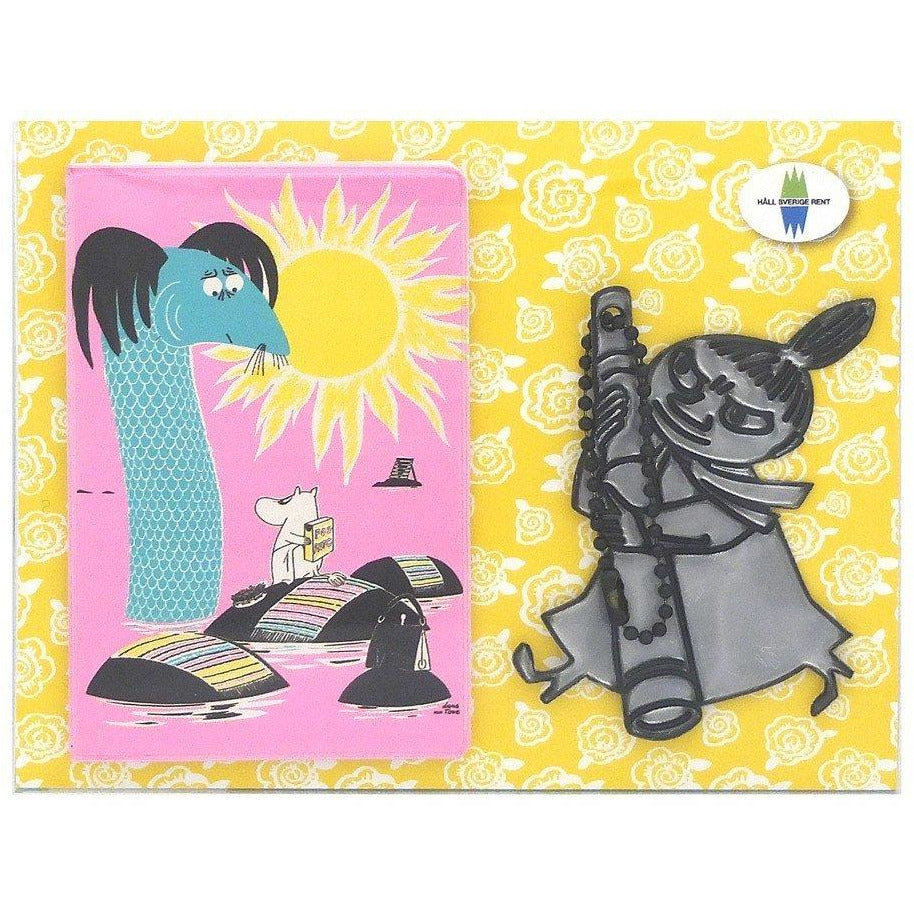 Håll Sverige Rent Little My Reflector & Card Case by Popomax - The Official Moomin Shop