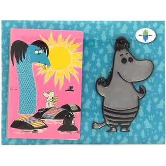 Håll Sverige Rent Moomintroll Reflector & Card Case by Popomax