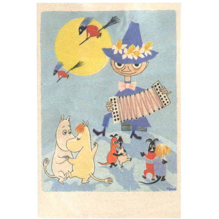 Moomin Easter wooden card 4-pack - The Official Moomin Shop
