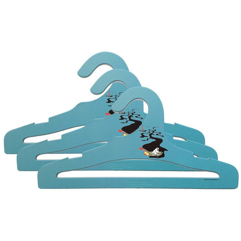 Blue Moomin coat hangers - Håll Sverige Rent - The Official Moomin Shop