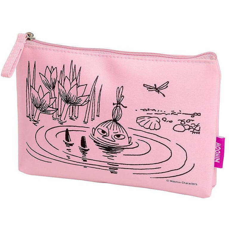 Little My swimming make up pouch by Cailap - The Official Moomin Shop